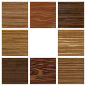 Collage wood texture for design interior — Stock Photo