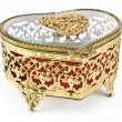 Golden jewelry box — Stock Photo #12551186