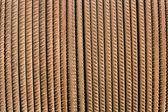 Rusty steel rod as background — Stock Photo