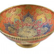 Foto Stock: Antique brass bowl