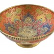 Antique brass bowl — Foto Stock #12849962
