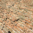 Old brick floor ground as background - 