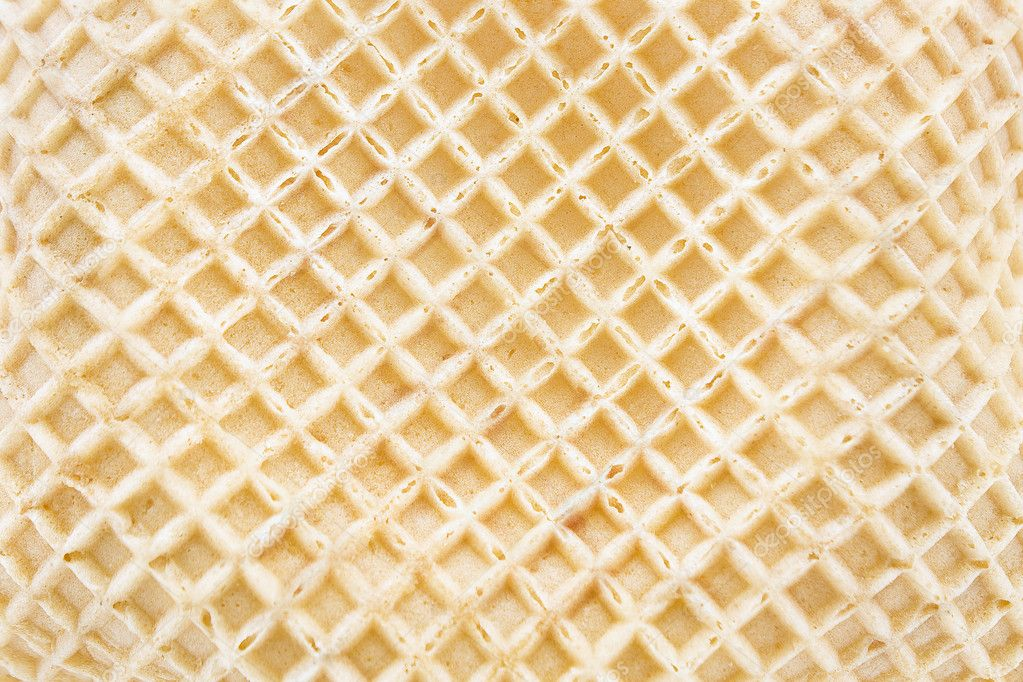 Ice cream cone texture as background — Stock Photo ...