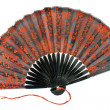 Stock Photo: Japanese hand fan