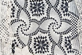 Handmade lace as background — Stock Photo
