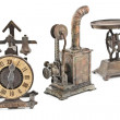 Three antique objects — Stock Photo