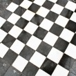 Outdoor marble chessboard - Stock Photo