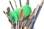 Artist paint brush assortment — Stock Photo