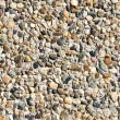 Pebble cement wall texture background — Stockfoto