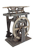 Old rusty weighing scale — Stock Photo