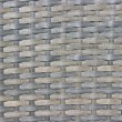 Stock Photo: Gray wicker woven texture background