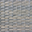 Gray wicker woven texture background — Stock Photo