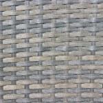 Gray wicker woven texture background — Stock Photo