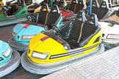 Autoscontri nel parco divertimenti — Foto Stock