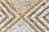 каменная мозаика текстура фон — Стоковое фото