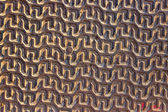 Iron pattern texture as background — Stock Photo