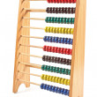 Colorful Abacus isolated on white — Stock Photo