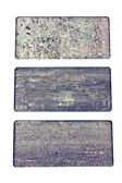 Granite texture samples collection catalog — Stock Photo