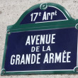 Stock Photo: Grande Armée Avenue in Paris