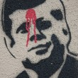 Kennedy Graffiti - Stock Photo