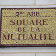 Stock Photo: Square de lMutualité