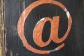 Internet Graffiti — Stock Photo
