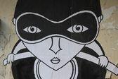 Paris Graffiti — Zdjęcie stockowe
