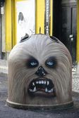 Chewbacca Graffiti — Fotografia Stock