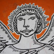 Angel Graffiti — Stock Photo