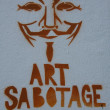 Art Sabotage — Stock Photo