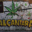 Alcantara Graffiti — Stock Photo