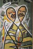 Grafiti de lisboa — Foto de Stock