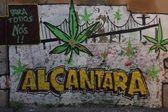 Alcantara Graffiti — Stock Photo