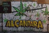Alcantara graffiti — Photo