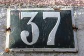 Number 37 — ストック写真