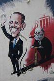 Obama Graffiti — Stock Photo