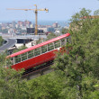Stock Photo: Funicular in city Vladivostok