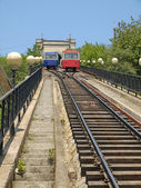 Funicular in Vladivostok — Stock Photo