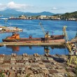 Stock Photo: Slipway area, port Nakhodka, Russia. Panorama