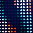 Bokeh triangles - Stockfoto