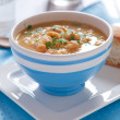 Stock Photo: Italisoup with chick pea