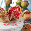 Stock Photo: Sweet pomegranat