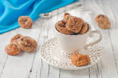 Sweet dried fig in the cup — Stock Photo