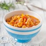 Chick-pea soup — Stock Photo #23481905