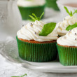 Sweet mint cupcake — Stock Photo #36730219