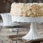 Napoleon cake — Stock Photo
