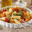 Italian colored pasta — Stock Photo