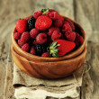Berry in the bowl — Stock Photo