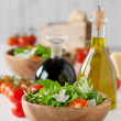 Salad with arugula — Stock Photo #38952577