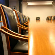 Business meeting room in office — Stock Photo #13633300